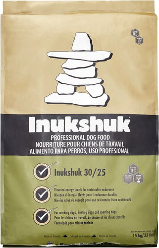 Inukshuk 30/25 working dog formula