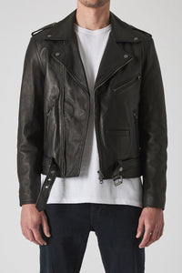 Neuw Fitzroy Jacket - Black Leather