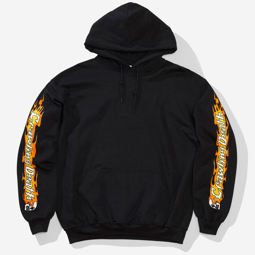 Crawling Death Fleece Pullover Hood - Black