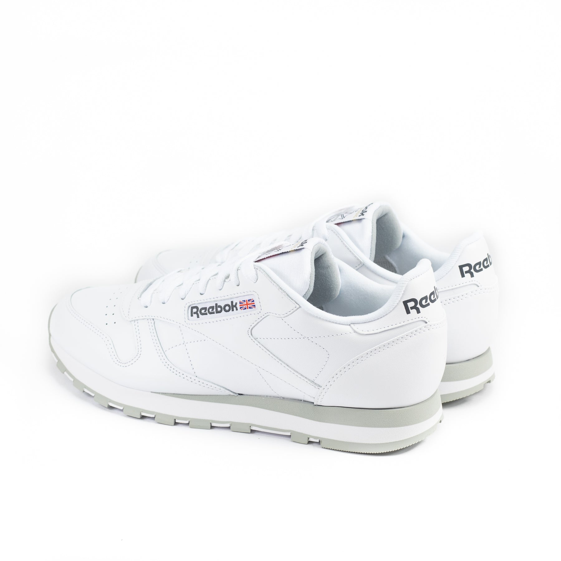 Reebok Cl Leather White Light Grey 2214