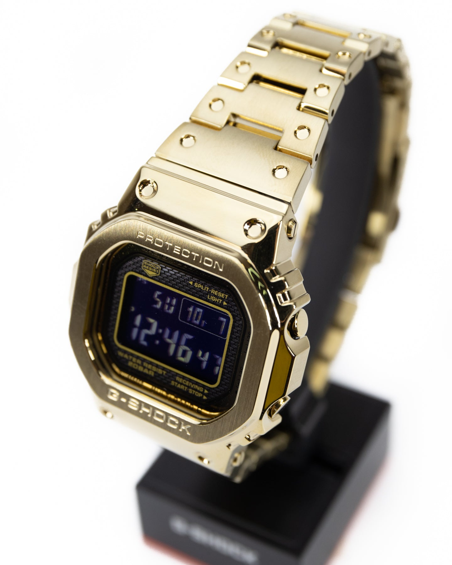 Casio Vintage G Shock Metal LTD Gold