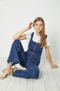 Rollas Eastcoast Flare Overall - French Blue