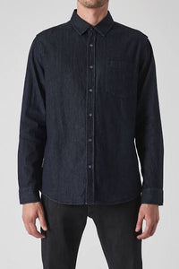 Neuw Waits Denim Shirt - Zero Dark