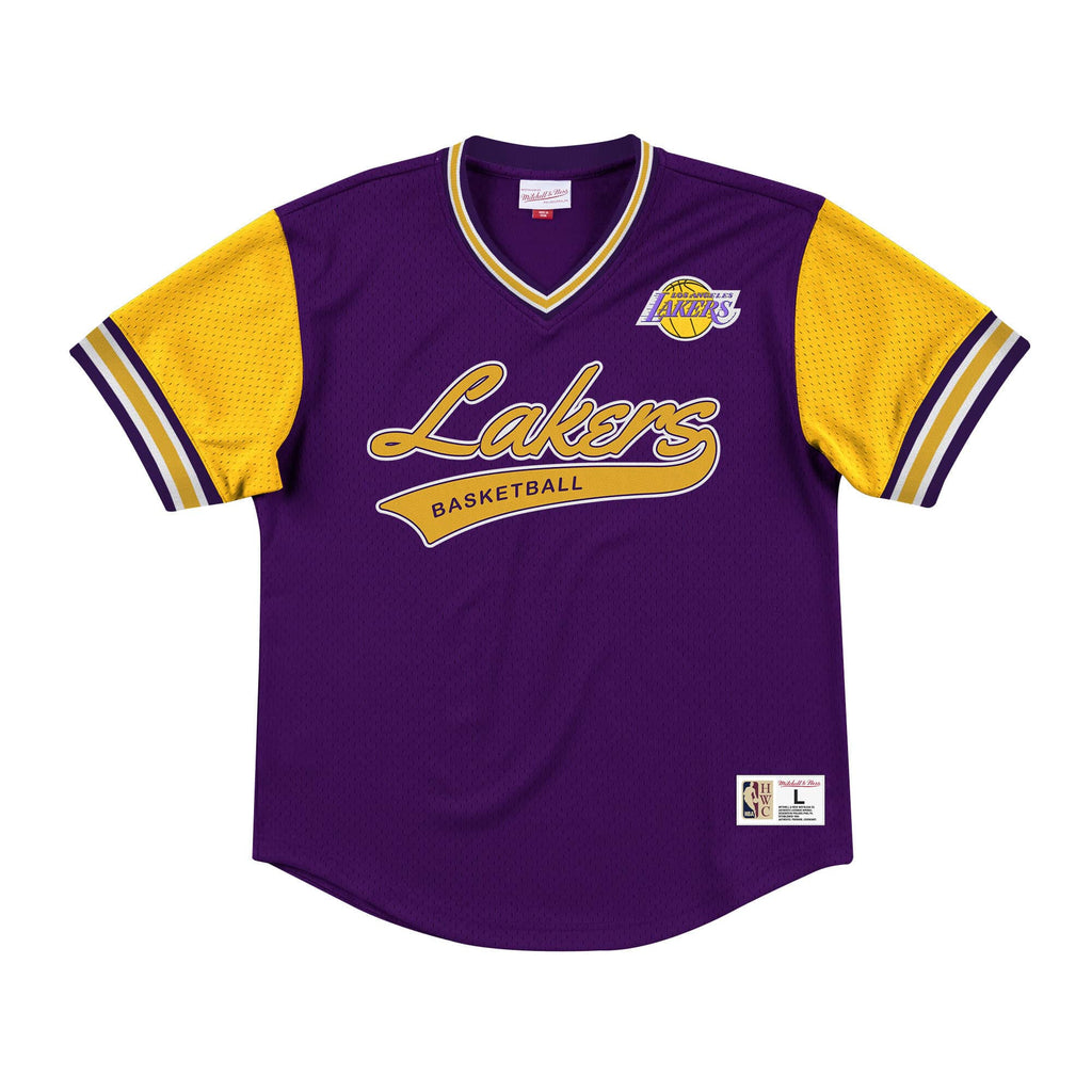 Mitchell & Ness Top Prospect Mesh V-Neck