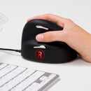 R-Go Ergonomic Break Mouse - wired Vertical