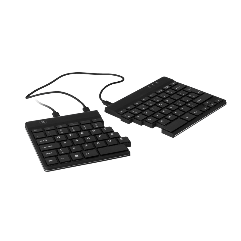 R-Go Tools Premium Mobile Set - Break Mouse, Split Keyboard, Laptop Stand