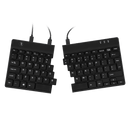 R-Go Premium Combo Ergonomic Break Mouse and Split Keyboard - QWERTY (US)