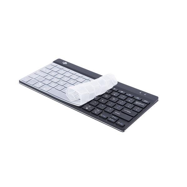 R-Go Hygienic Keyboard Cover, Ultra-Thin Silicone Compatible with R-Go Keyboard, SKU-RGOCOUSWDBL