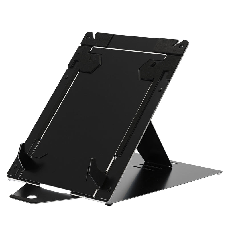 R-Go Riser Duo, Tablet and Laptop Stand, adjustable, black