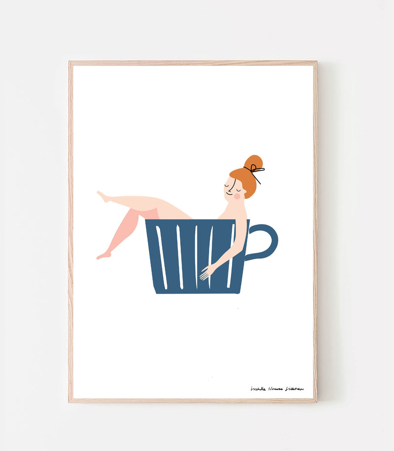 A cup of coffee Poster