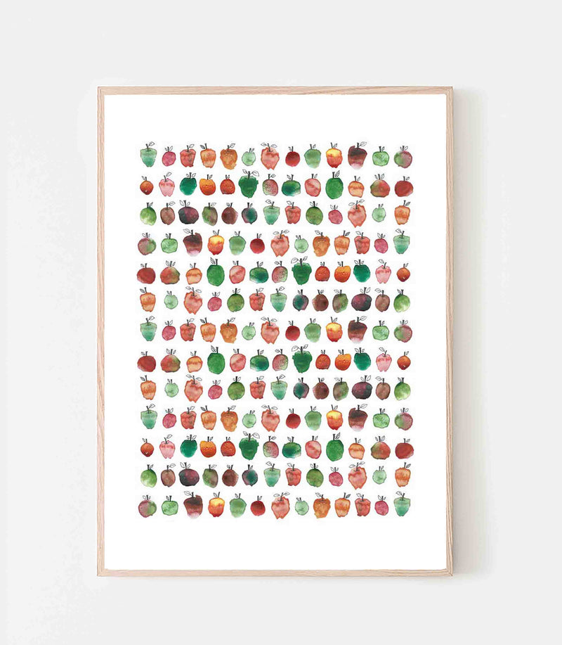 Lots of apples Poster