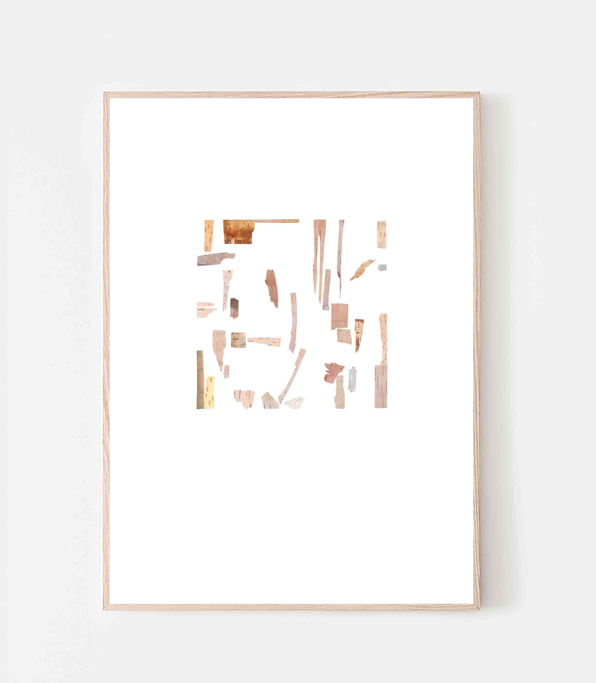 Square Abstracted Poster