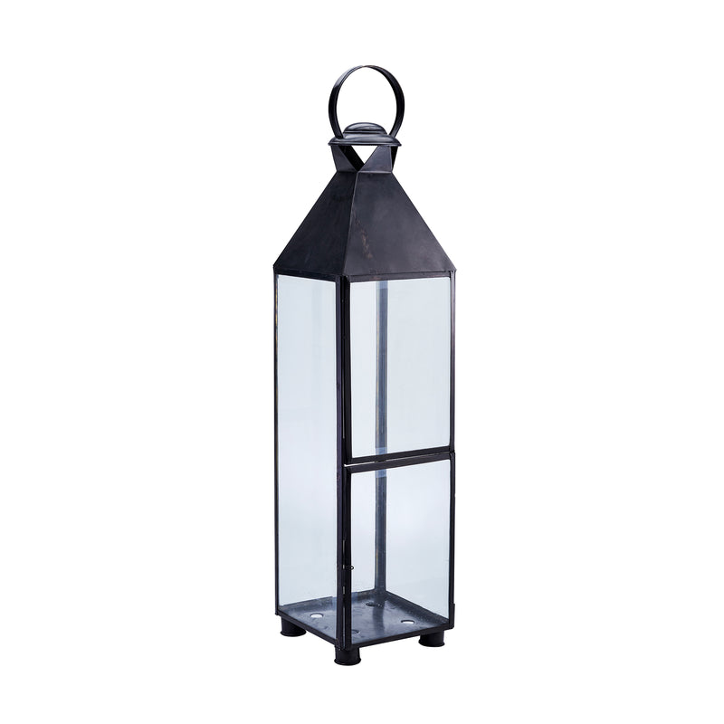 Black Industrial Lantern