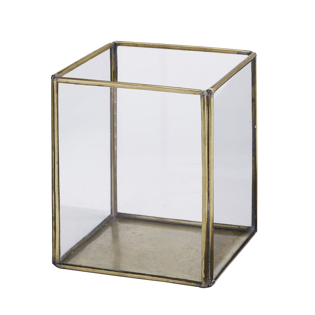 Gold Glass Prism