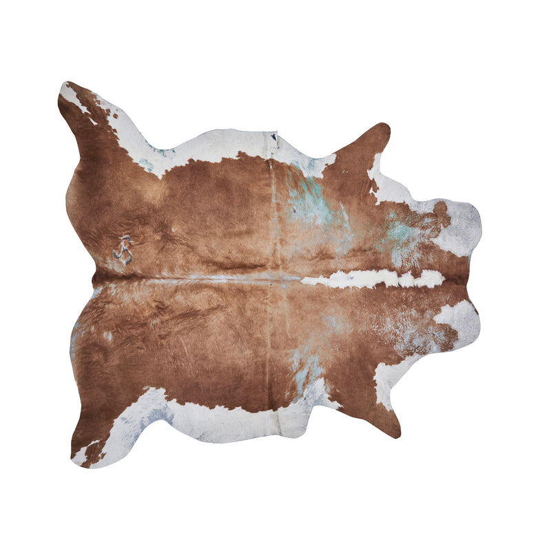 Brown Cow Hide Rug