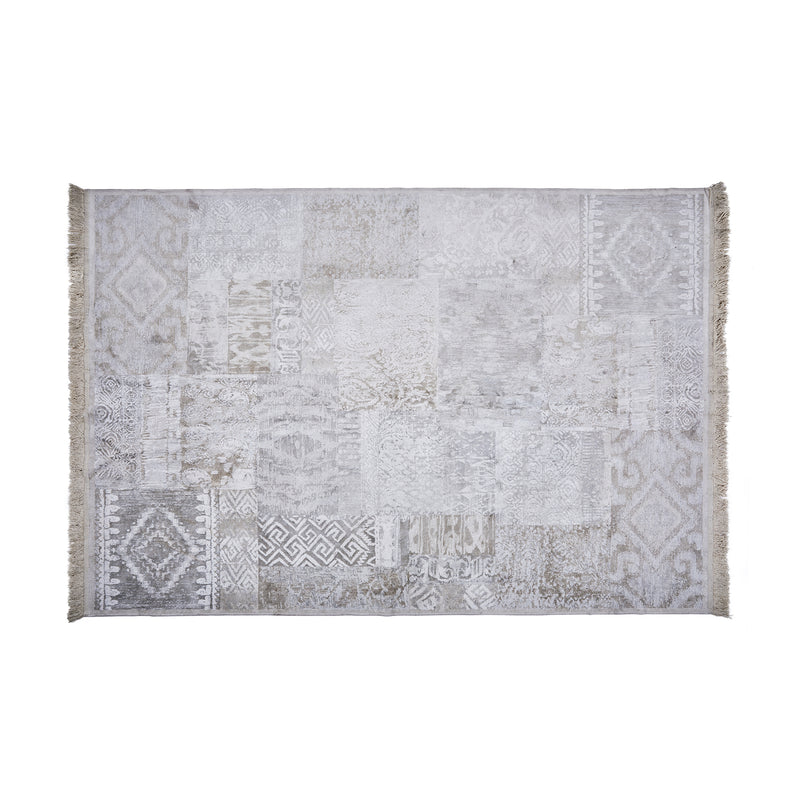 Muted Persian Patchwork Rug
