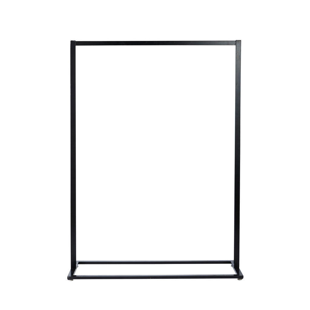 Large Black Freestanding Frame