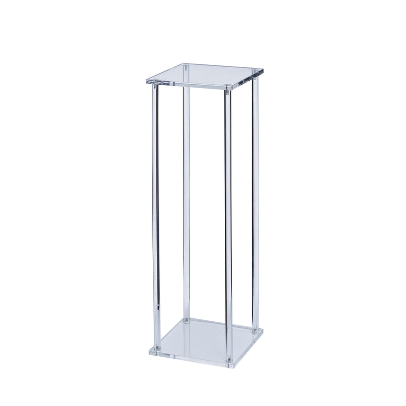 Clear Acrylic Flower Stand