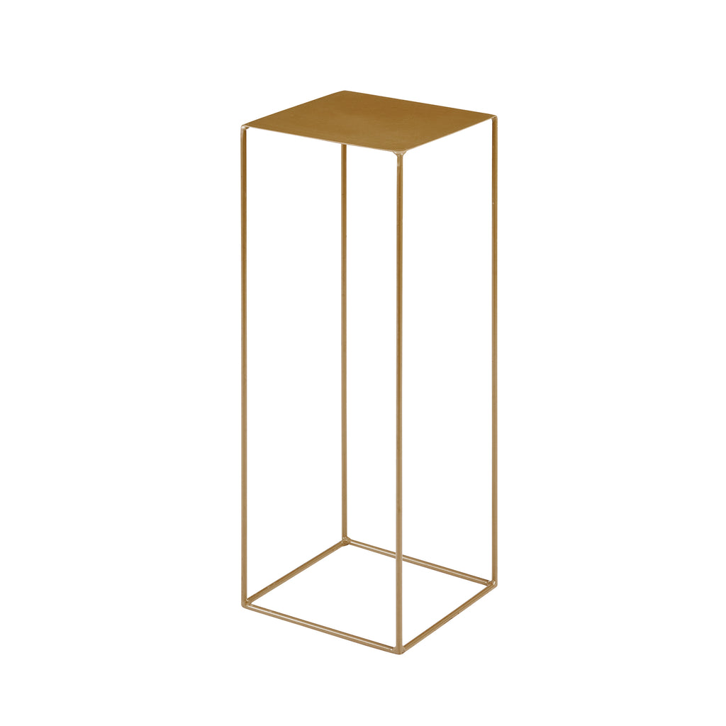 Medium Gold Flower Stand