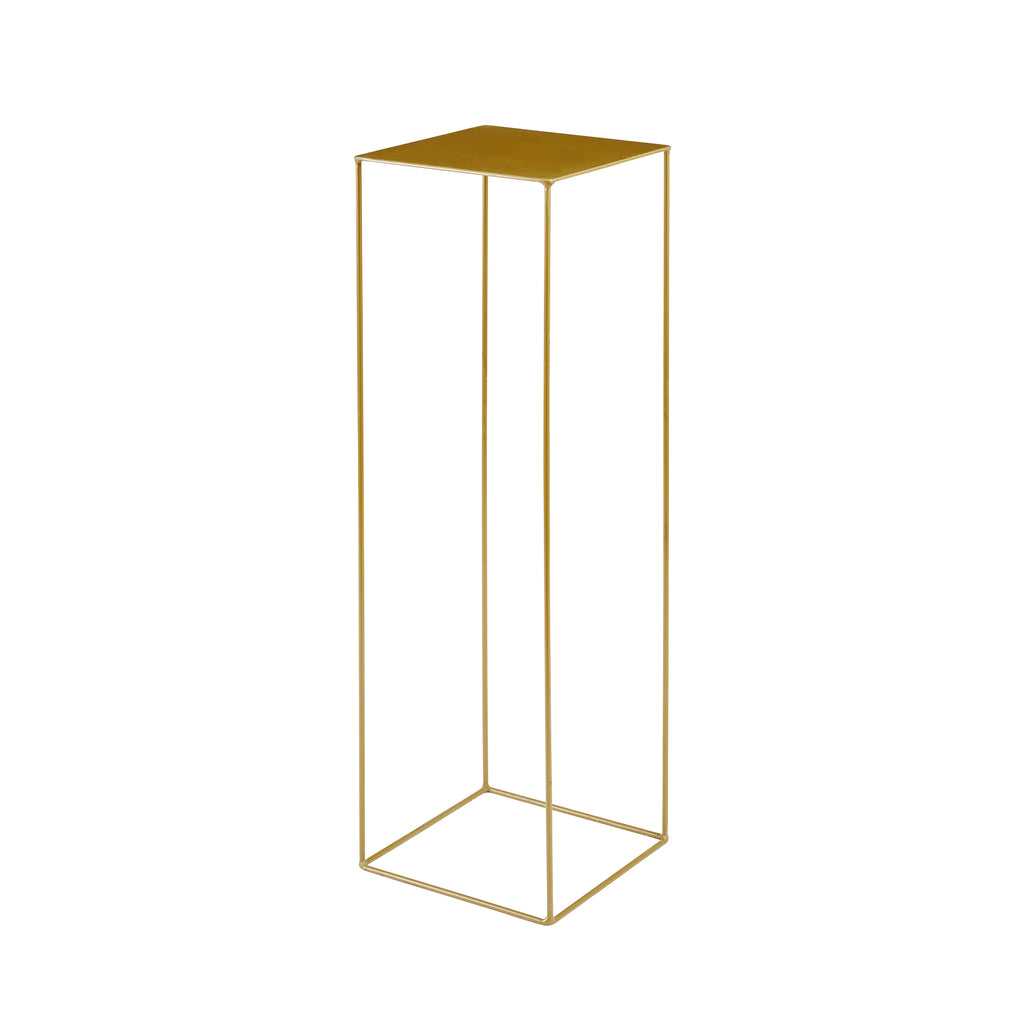 Large Gold Flower Stand