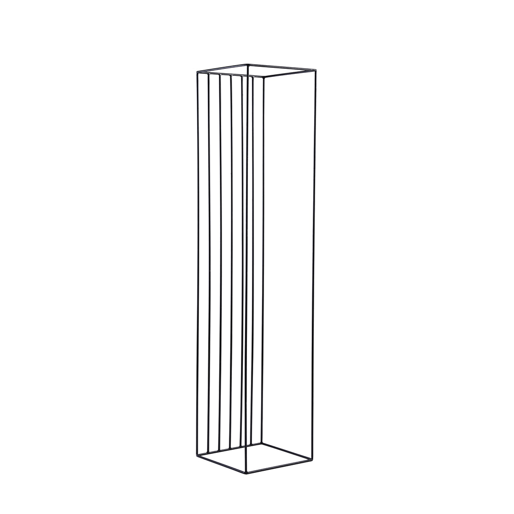 Tall Black Linear Stand