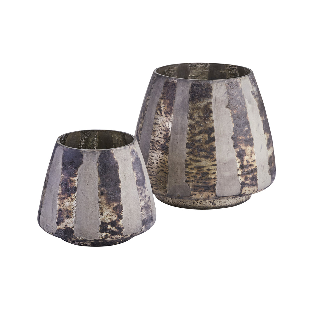 Pewter Lined Votive