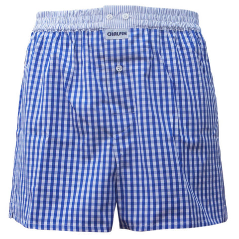 Cotton Boxer Shorts - made in the UK by Chalfin