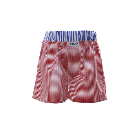 Mini Dean Boys Boxer Shorts - made in the UK by Chalfin
