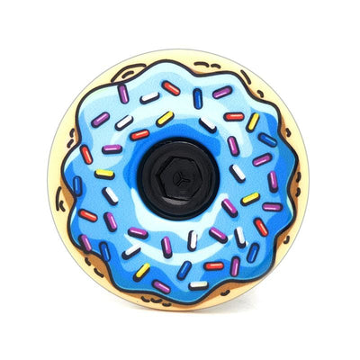 Blueberry Icing Donut