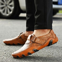 Men Casual Shoes Mens Loafers Fashion Breathable Driving Shoes Slip On Comfy Moccasins