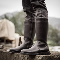 Men's High Boots Boots Waterproof Riding Boots Men's Knight Boots