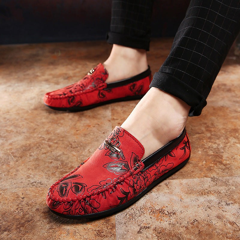 New Men's Casual Shoes Fashion Flat Shoes