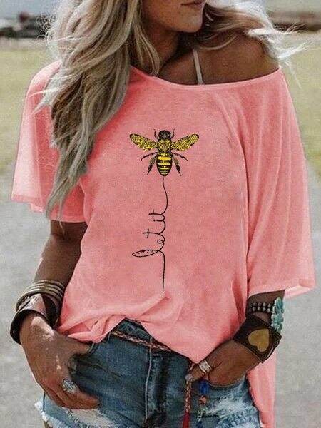 Women's Bee Printed Blouse