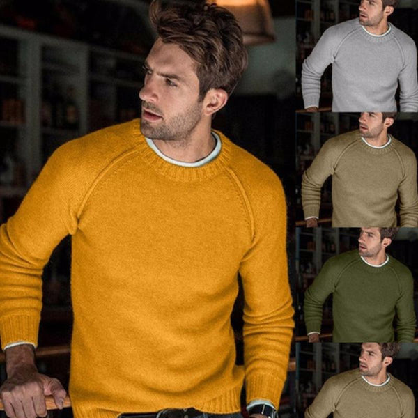 New Fashion Casual Men's Sweater