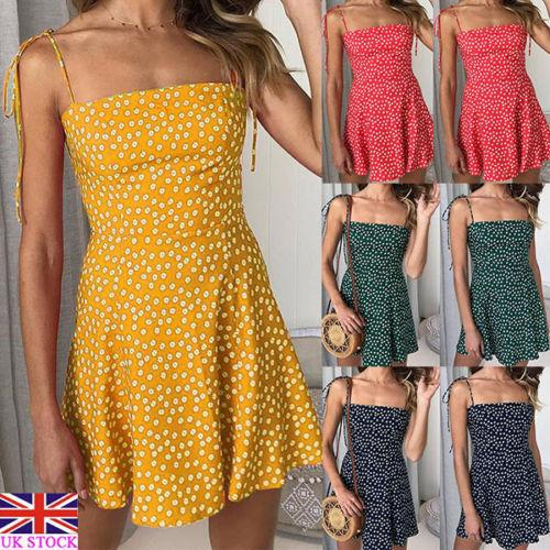 Summer Sexy Multicolor Polka Dot Lace Short Dress