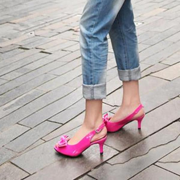 Big Size Women Peep Toe High Heels Summer Sandals Shoes
