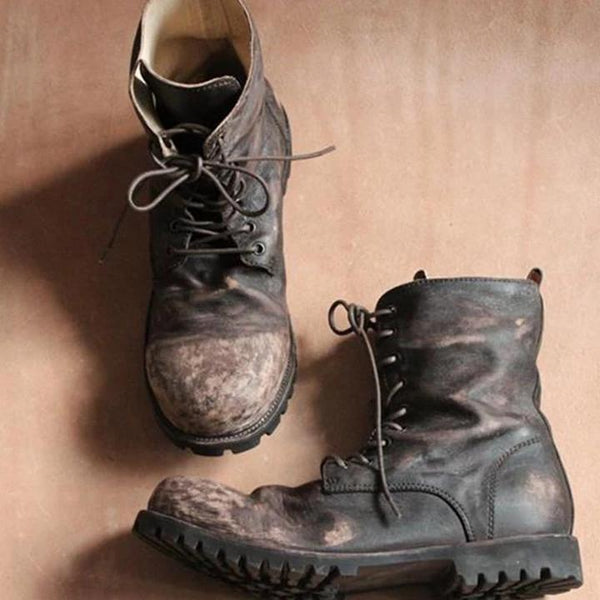 Vintage Outdoor Military Boots