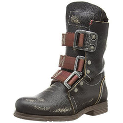Men's Retro Buckle Hiking Boots-Black Friday Sale 40% OFF