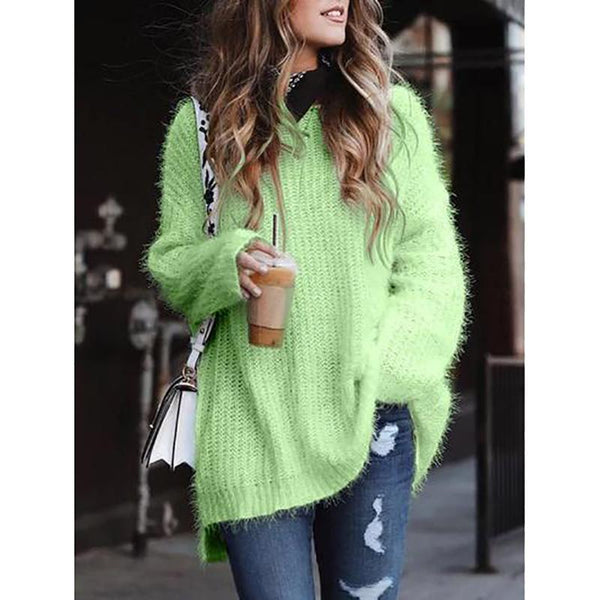 Women's Casual Comfy Knitting Sweater