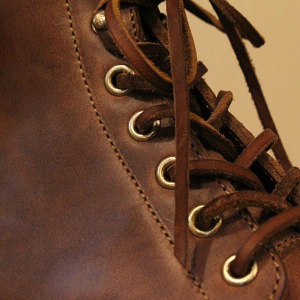 Men's Retro Lace Up Round Toe Martin Boots