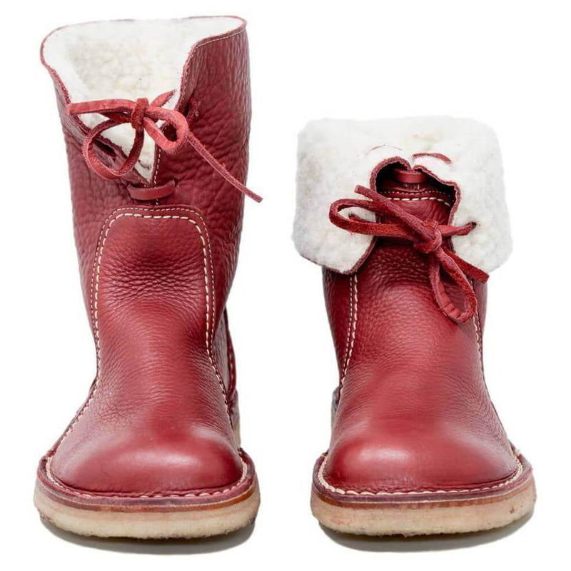 Women Casual Vintage Boots Winter Snow Boots