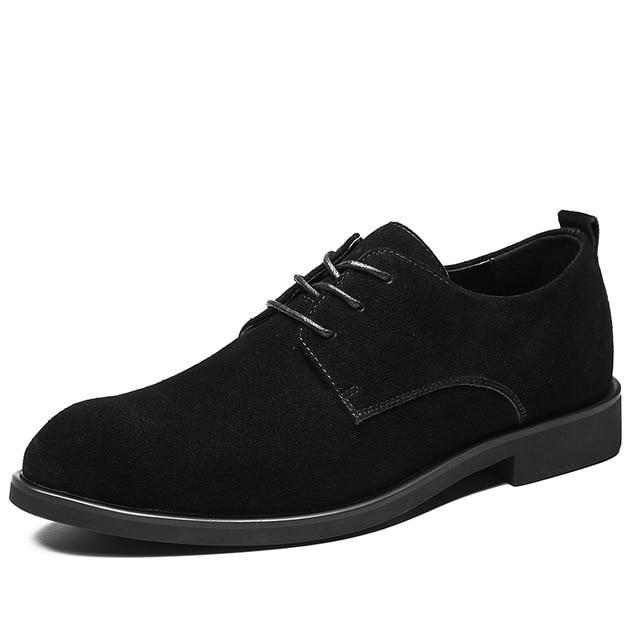 Men British Style Breathable Formal Leisure Flats Shoes