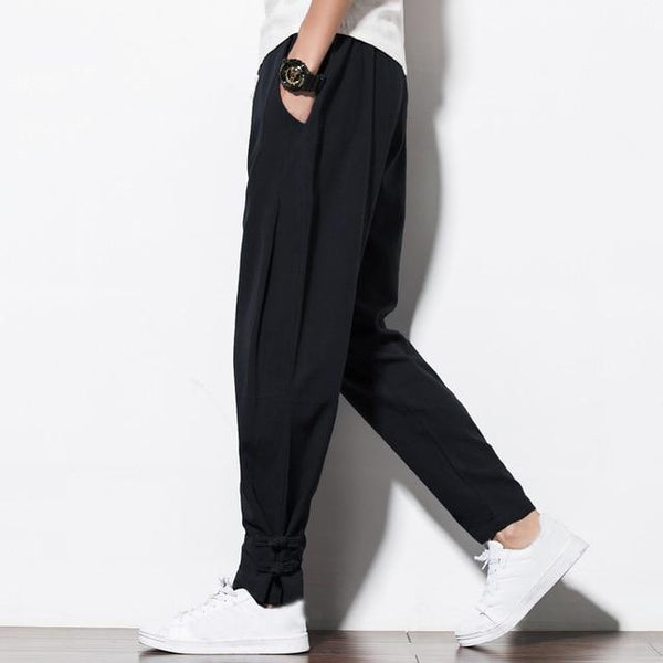 Men Casual Sweatpants Elastic Waist Plus Size Hip Hop Trousers Joggers Pants