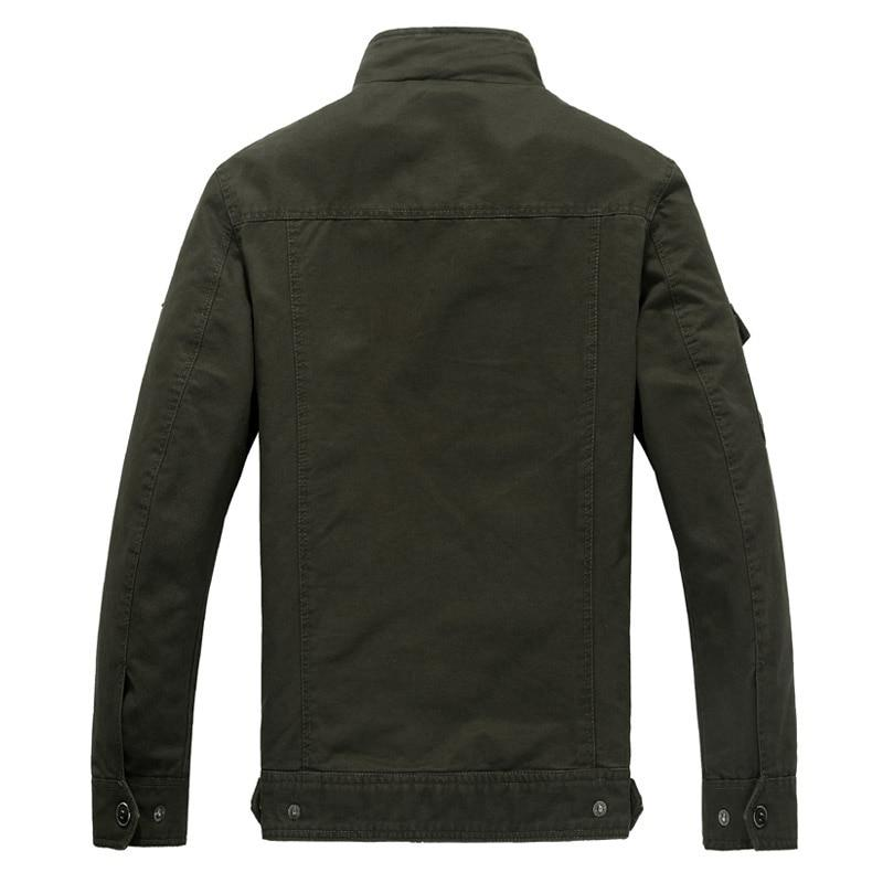 Cotton Military Jacket Men coat Soldier MA1 Style Army Jackets Male Brand Mens Bomber Jackets Plus Size M-6XL