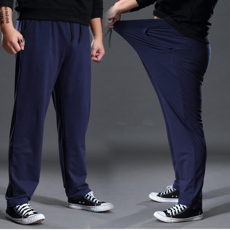 Men Sweat Pants Straight Casual Sport Pants Plus Size Long Pants Trousers