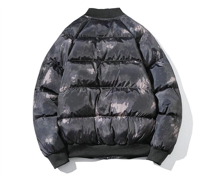 Men Camouflage Top Warm Waterproof Big Size Warm Thicken Male Cotton-Padded Parkas Coats Jackets