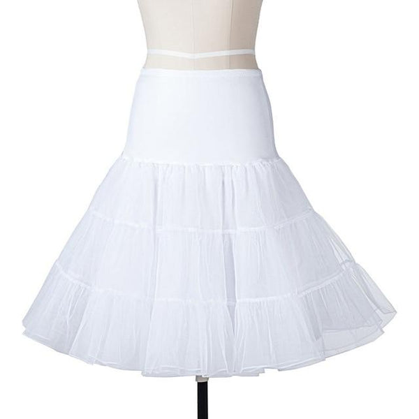 Tutu Skirt Swing Rockabilly Petticoat Underskirt For Wedding Bridal Vintage Dresses