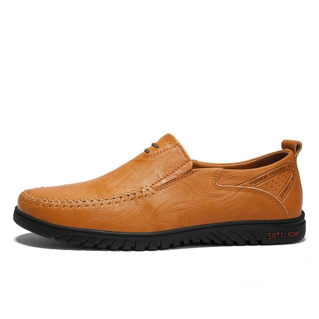 Men Shoes leather Comfortable Men Casual Shoes Footwear Flats For Men Slip On Shoes