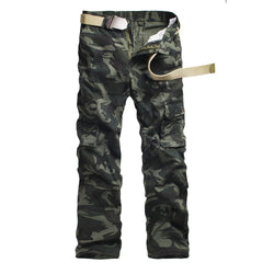 Men Camouflage Cargo Pants mens Casual Pockets Trouser Plus Size Outwear Army Joger Worker Baggy pants