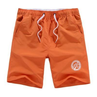 Men Casual Summer Cotton Beach Vacation Shorts